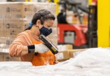 Home Depot distribution center