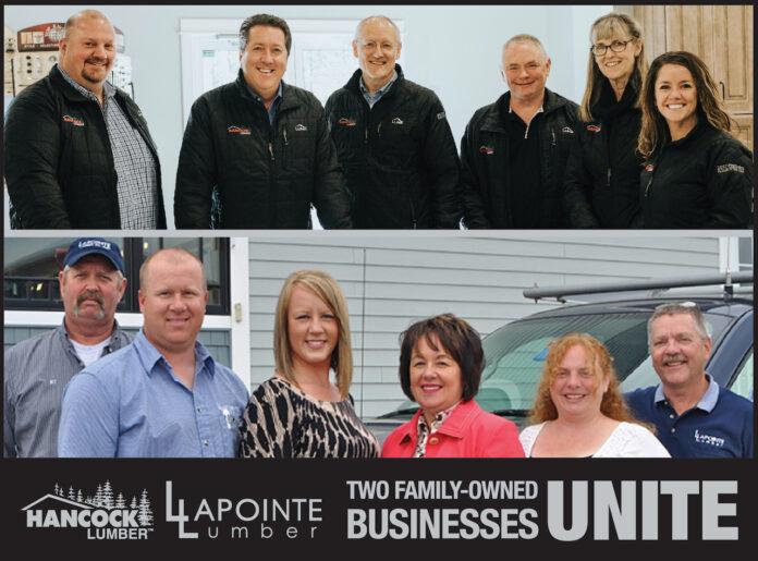 Hancock Lumber acquires Lapointe