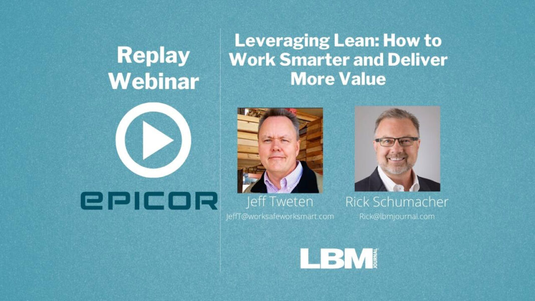 Leveraging Lean: Work Smarter