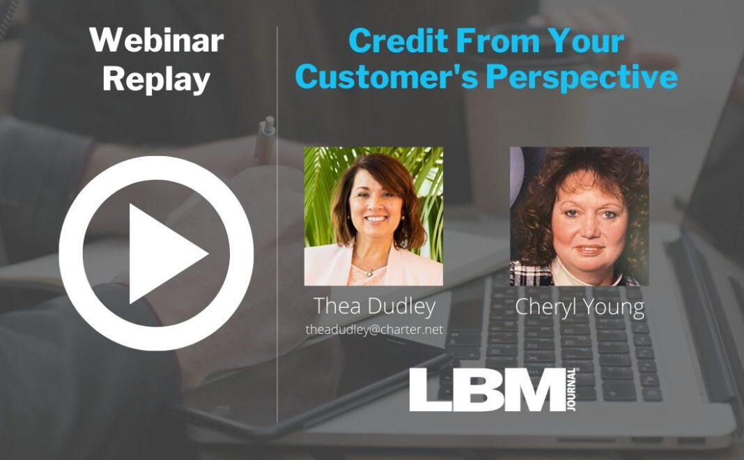 Credit From Your Customer's Perspective