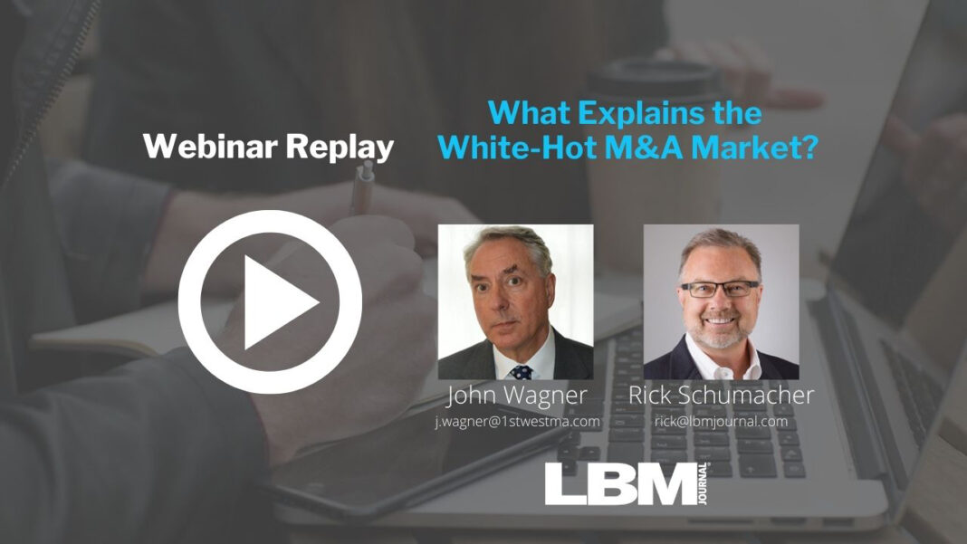 What Explains the White-Hot M&A Market?