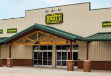 McCoy's new Liberty Hill location storefront.