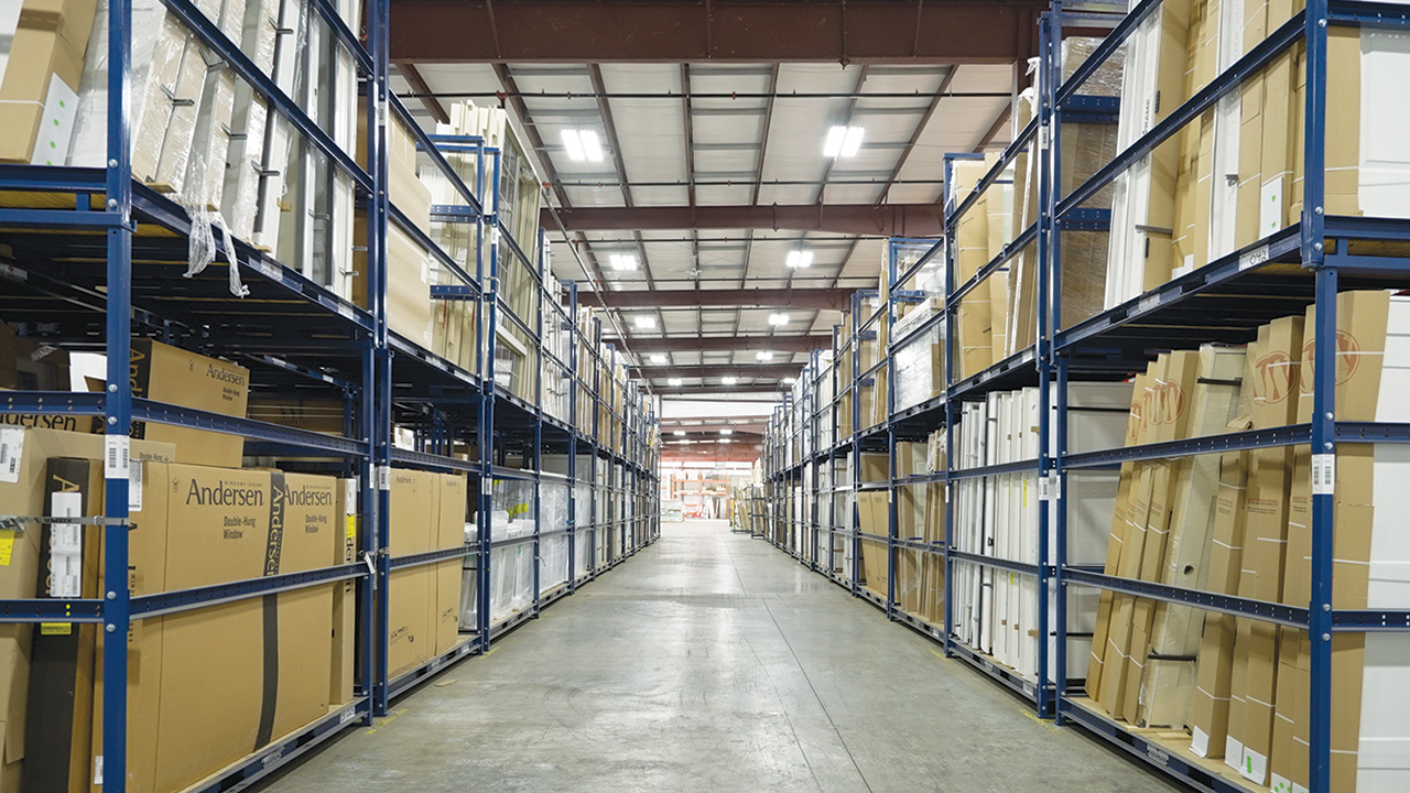 Sunbelt Rack material handling inventory management