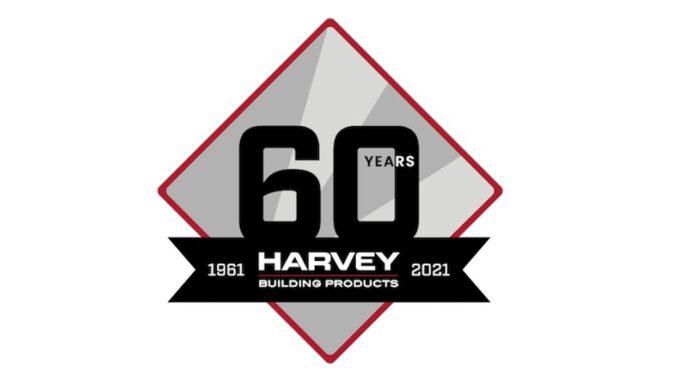 Harvey Building Products anniversary horizontal