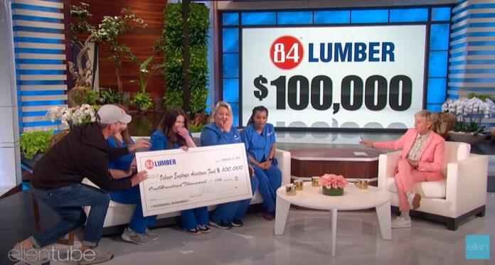 84 Lumber, Ellen