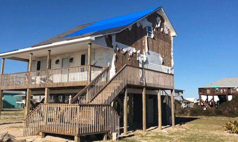 Huber ZIP system storm damaged roof