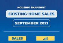 Existing home sales September